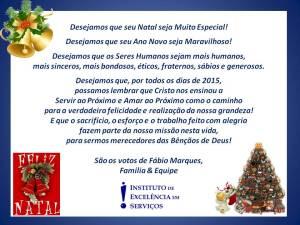 Desejamos que seu Natal seja Muito Especial!
